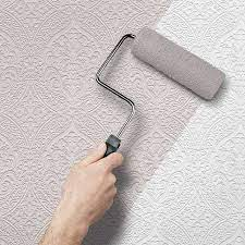 painting over wallpaper