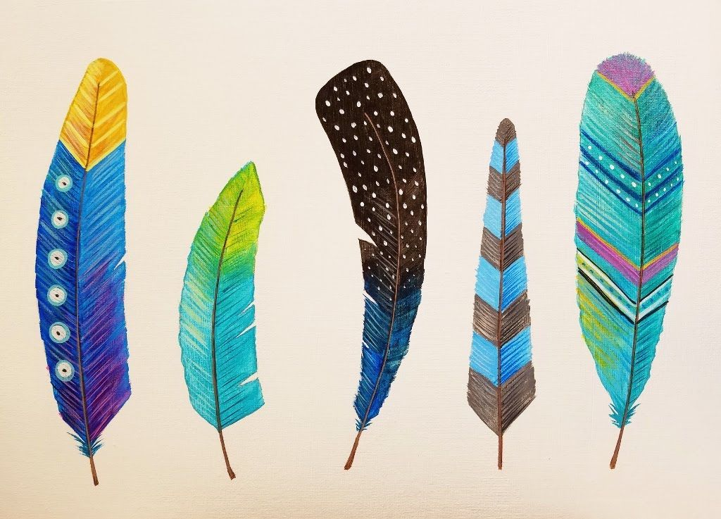 Feather Painting