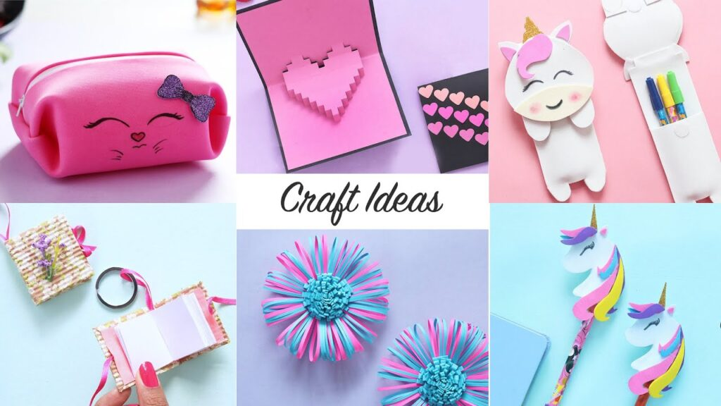quick and easy crafts
