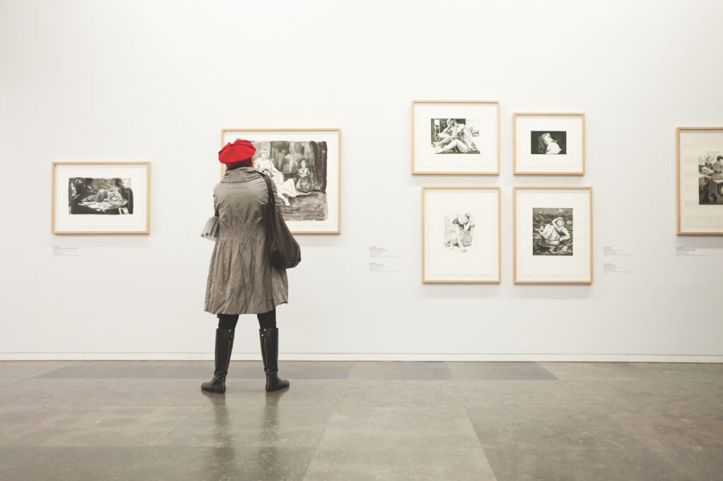 getting your art into galleries